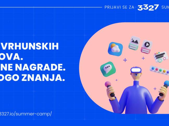 3327 organizuje prvi Web 3.0 Summer Camp u regionu!